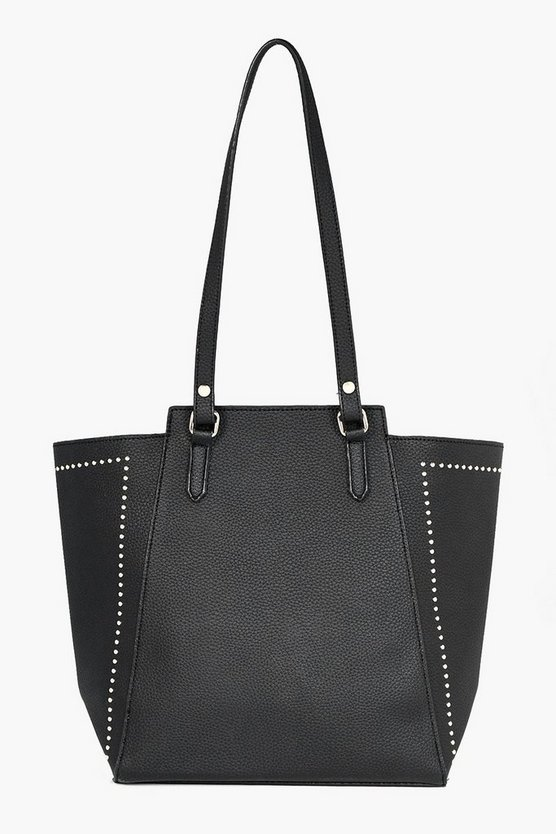 Neve Studded Wing Tote