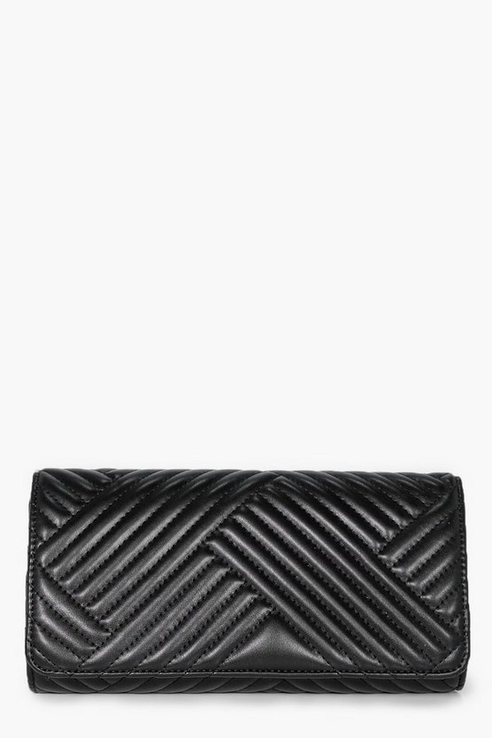 Tilly Quilted Clutch Bag