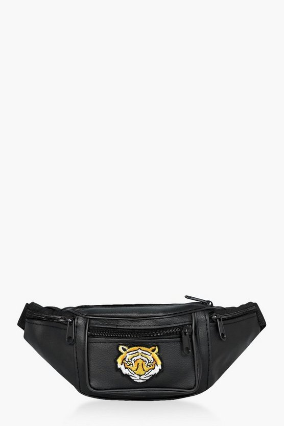 Macie Tiger Embroidered Bumbag