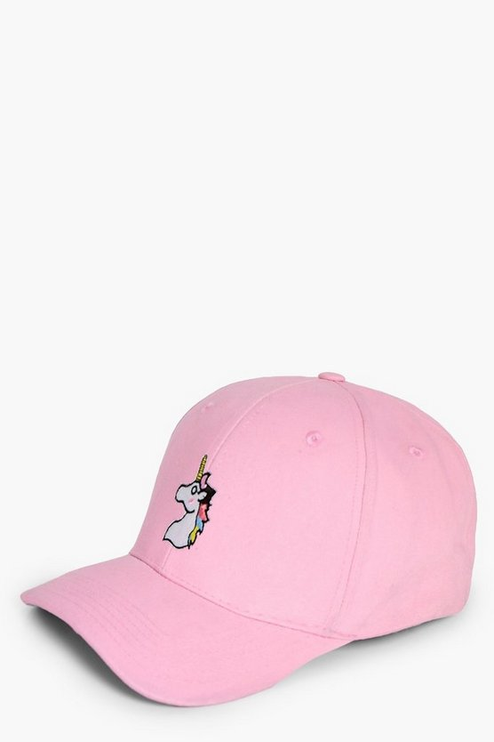 Saskia Unicorn Badge Baseball Cap