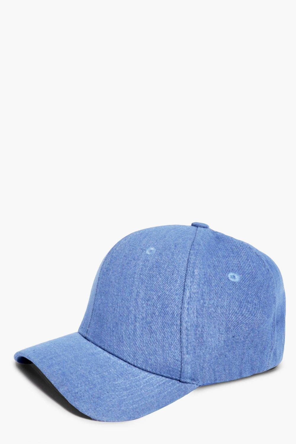 Denim Baseball Cap - blue - Harriet Denim Baseball