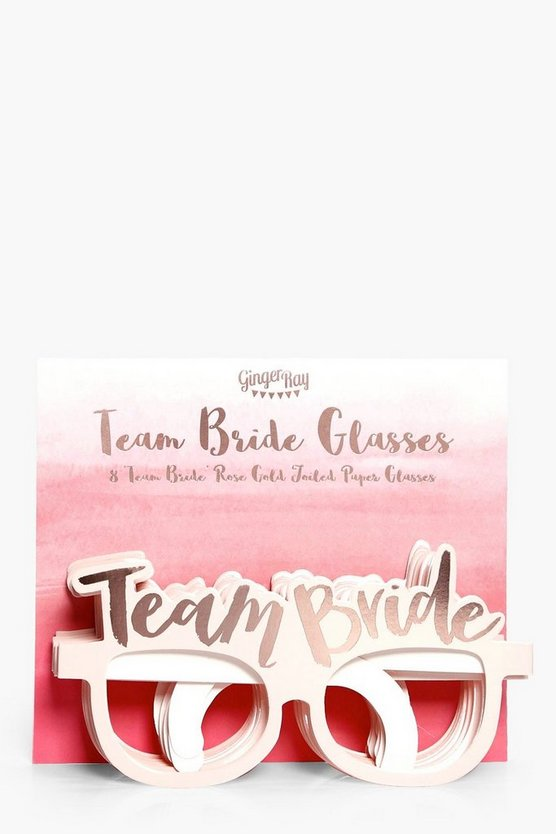 Team Bride Glasses 8 Pack