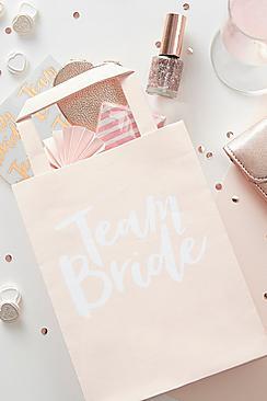Confezione con 5 borsette regalo team bride party