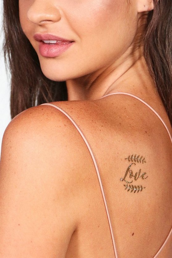 Wedding Metallic Tattoo Set
