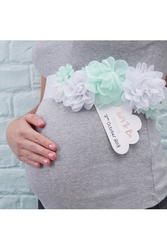 Baby Shower Mother To Be Sash