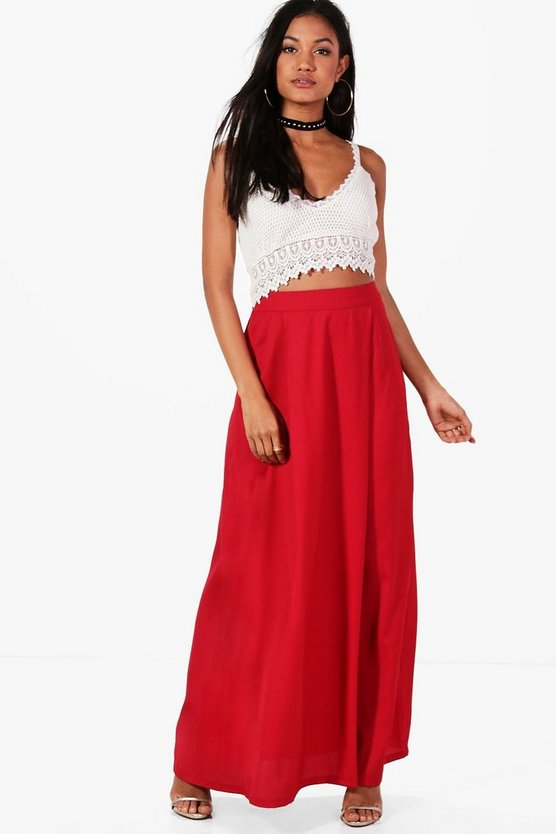 Julia Crochet Top & Maxi Skirt Co-Ord Set
