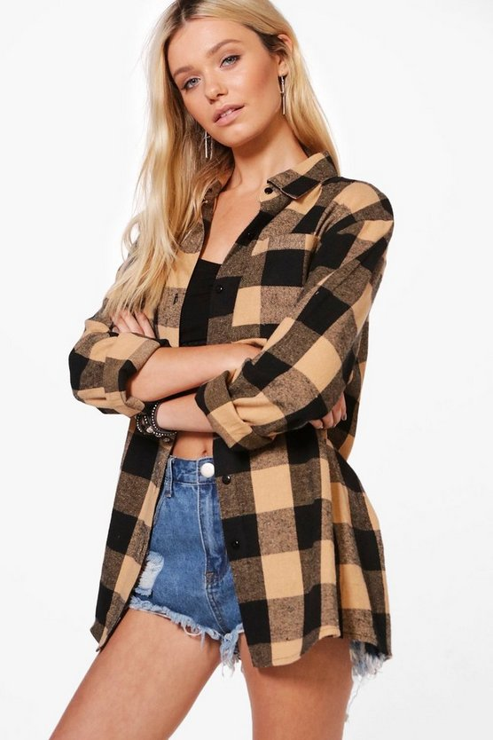 Samantha Oversized Checked Shirt