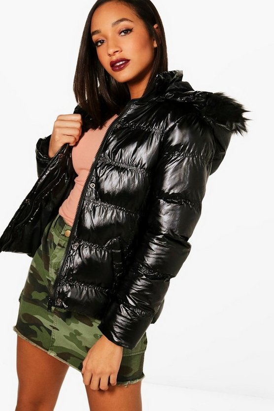 Rebecca Padded Jacket With Detachable Hood
