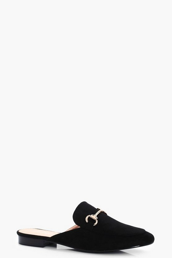Isobel Slip On Loafer Mule