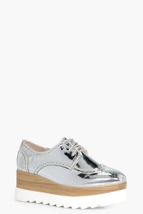 Annabel Cleated Lace Up Brogue