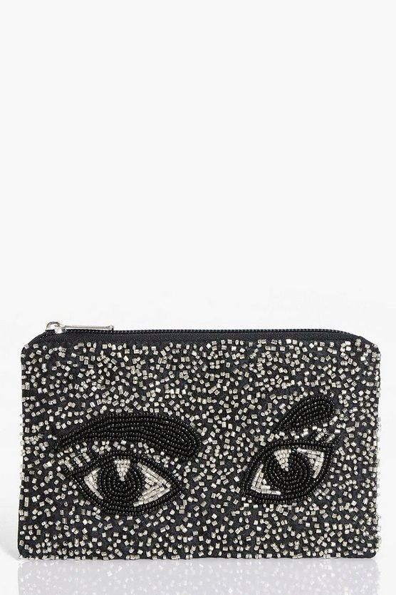 Isabel Embellished Eyes Purse