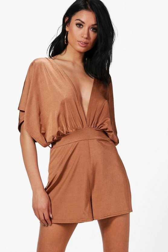 Kimono Style Belted Playsuit