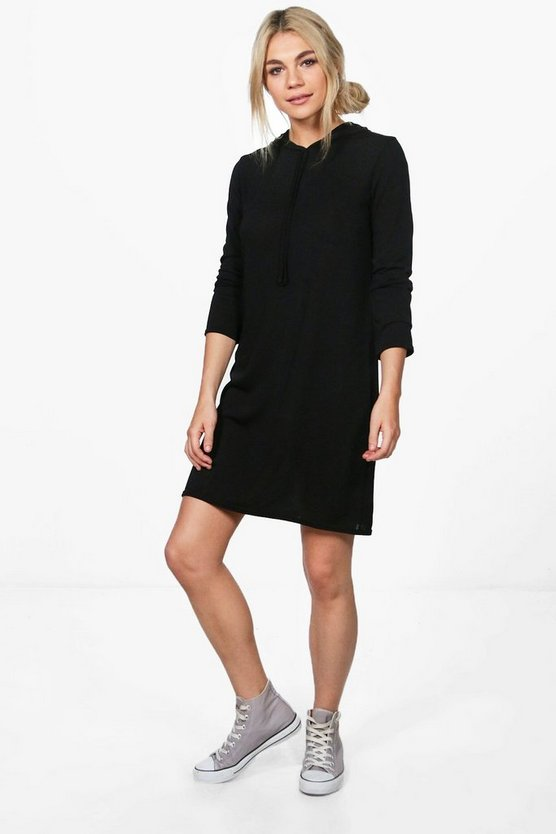 Eloise Fine Knit Hoody Dress