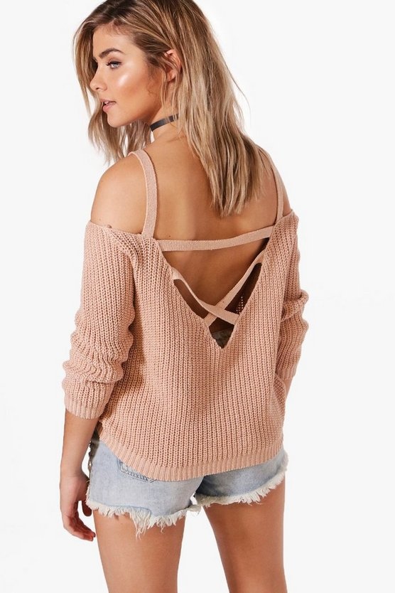 Ella Strap Boucle & Shoulder Jumper