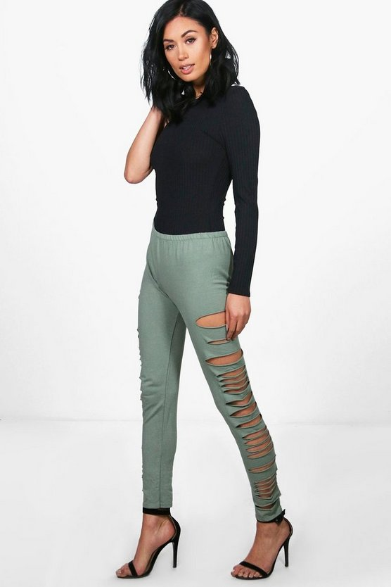 Emily Split Side Loopback Leggings