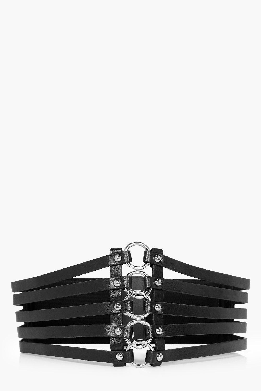 Mini Rings Waist Belt - black - Anna Mini Rings Wa