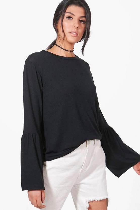 Daisy Wide Sleeve Fine Knit Jumper