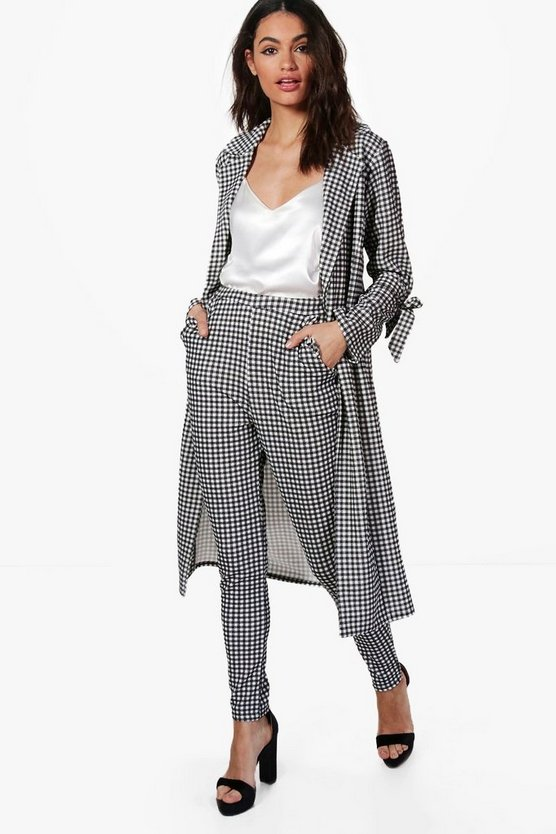Eva Gingham Trouser