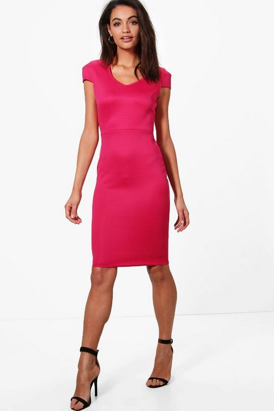 Esme Tailored Midi Dress