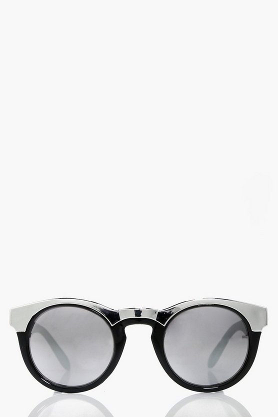 Anna Contrast Cat Eye Fashion Glasses