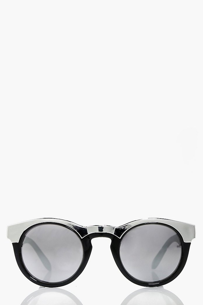 Anna Contrast Cat Eye Sunglasses