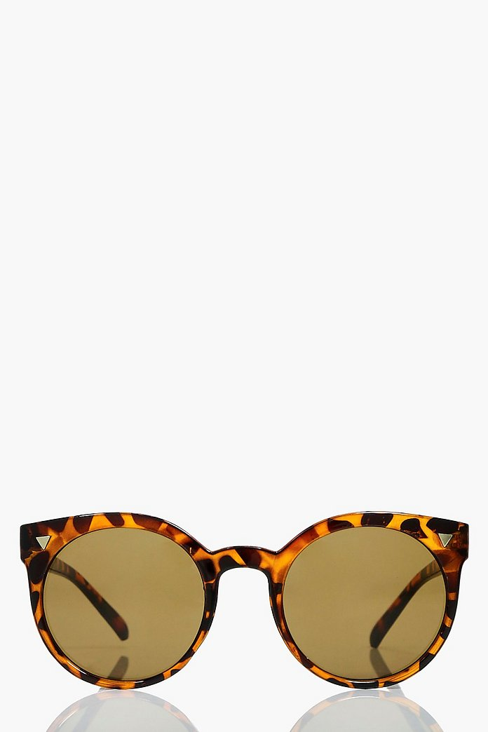 Bella Tortoise Retro Fashion Glasses