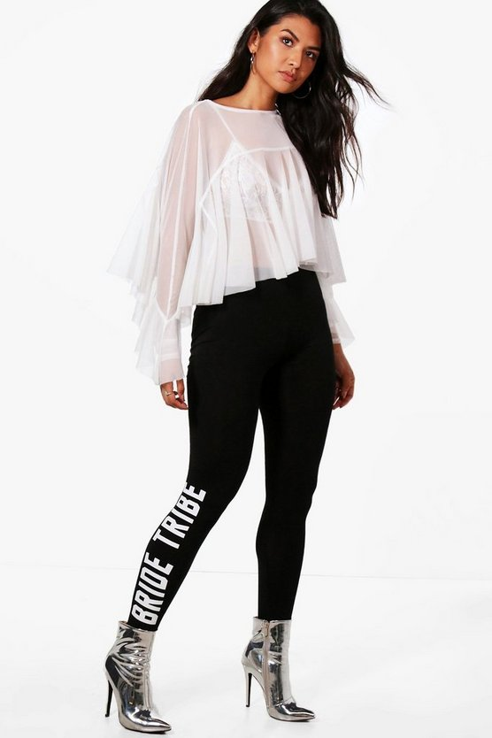 Elisa Bride Tribe Basic Jersey Leggings