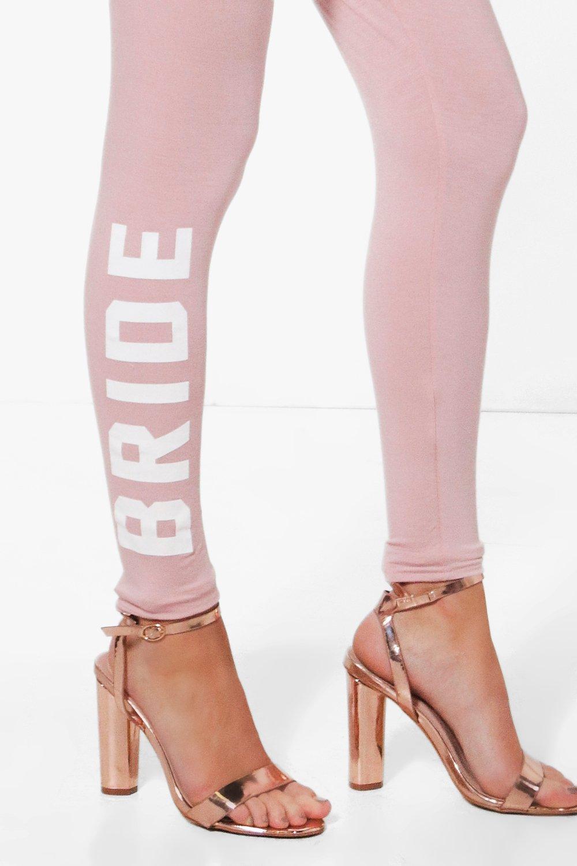 Boohoo-Ruby-Legging-Basique-En-Jersey-Bride-pour-Femme