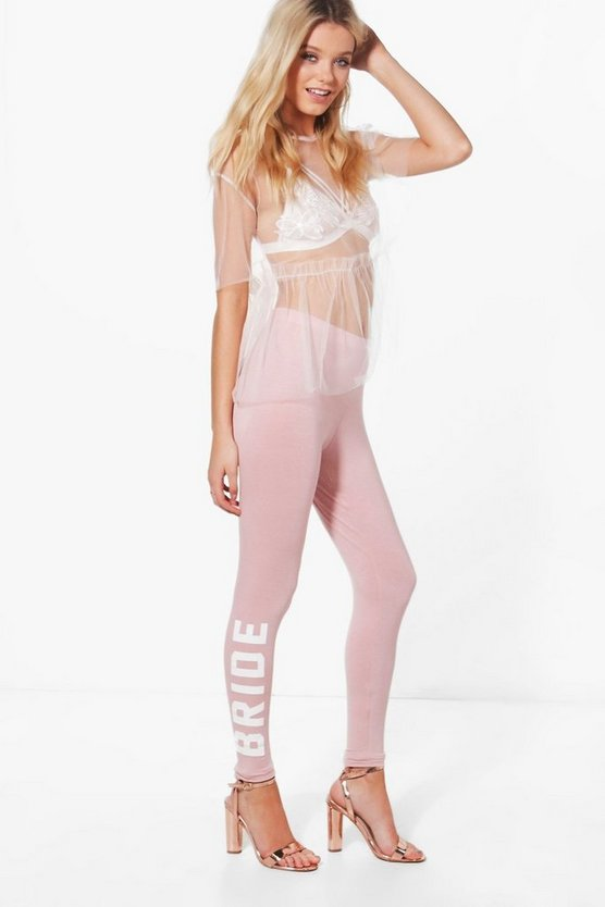 Ruby Bride Basic Jersey Leggings