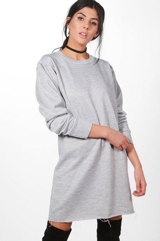 Sophie Half Baloon Sleeve Sweat Dress