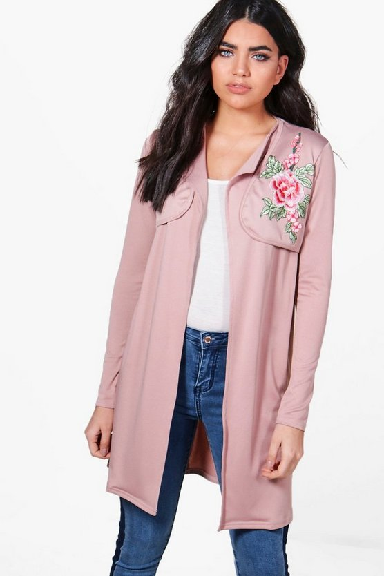 Amelia Embroidered Duster