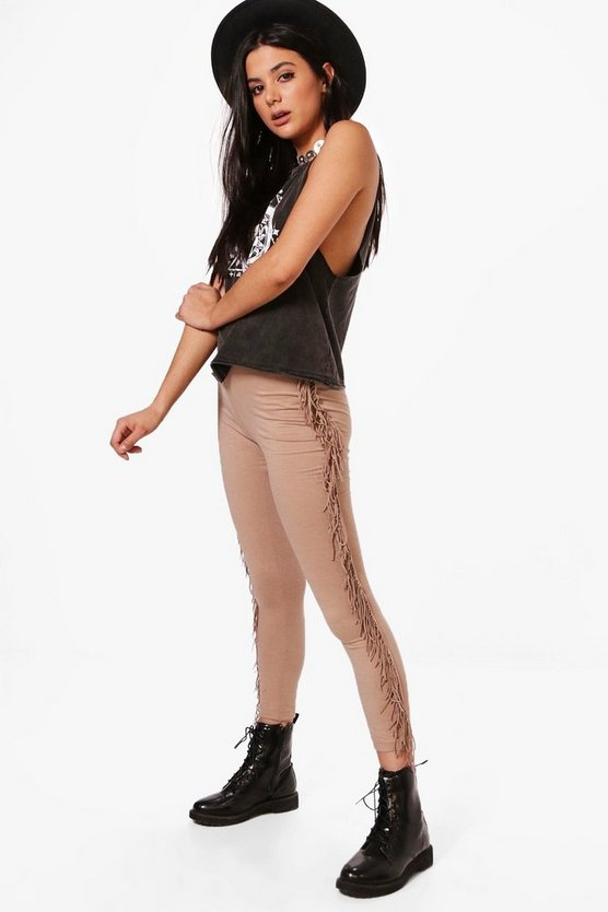 Carlita Tassle Side Festival Leggings
