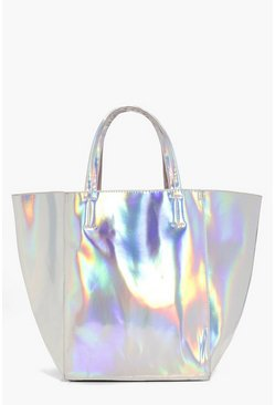 Eva Holographic Shopper Day Bag