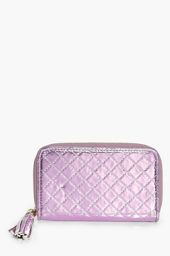 Millie Quilted Ziparound Purse