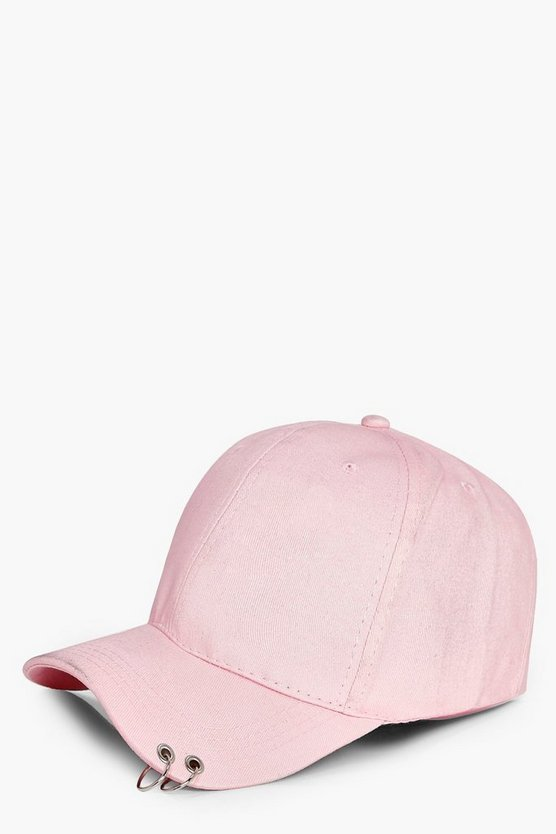 Ellie Ring Detail Baseball Cap
