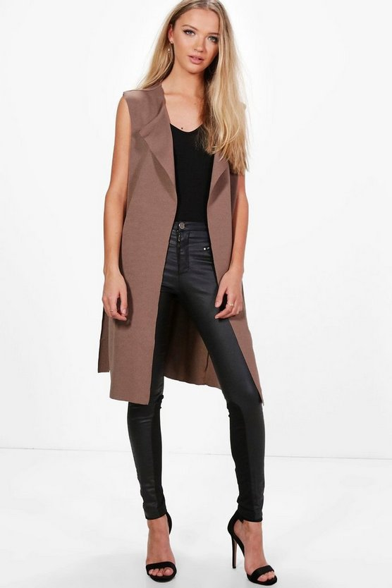 Maddi Sleeveless Duster