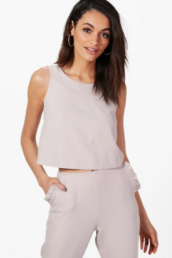 Rebecca Tailored Woven Top