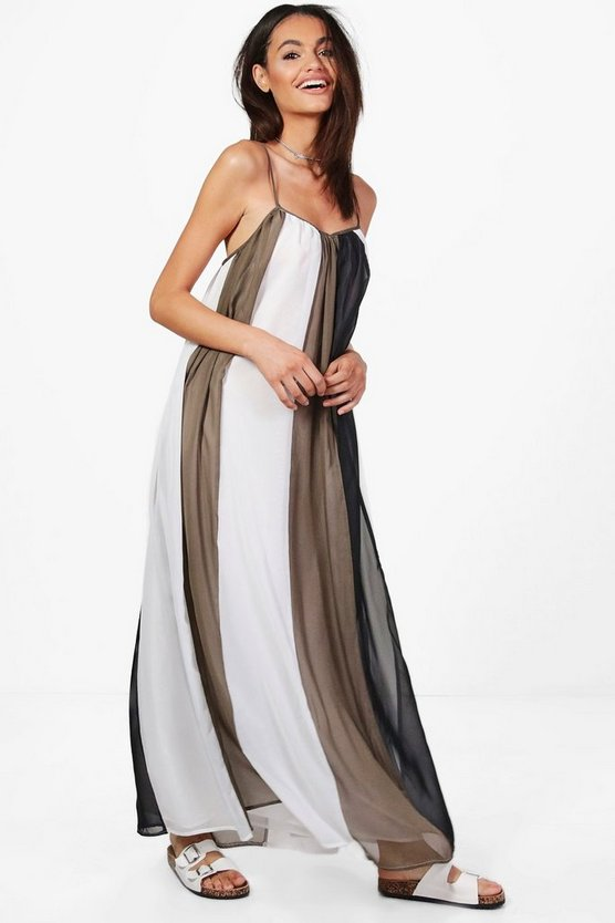 Holly Multi Stripe Maxi Dress