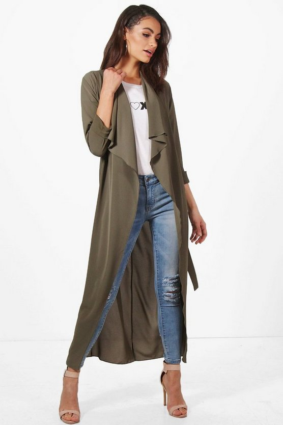 Kaley Maxi Waterfall Duster
