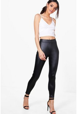 Amelia Basic Wet Look Legging