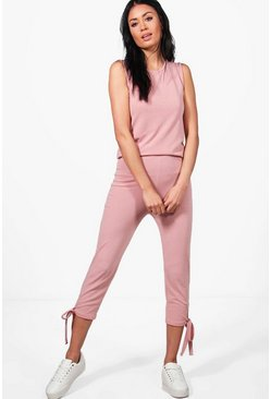 Mia Lace Up Knitted Lounge Set