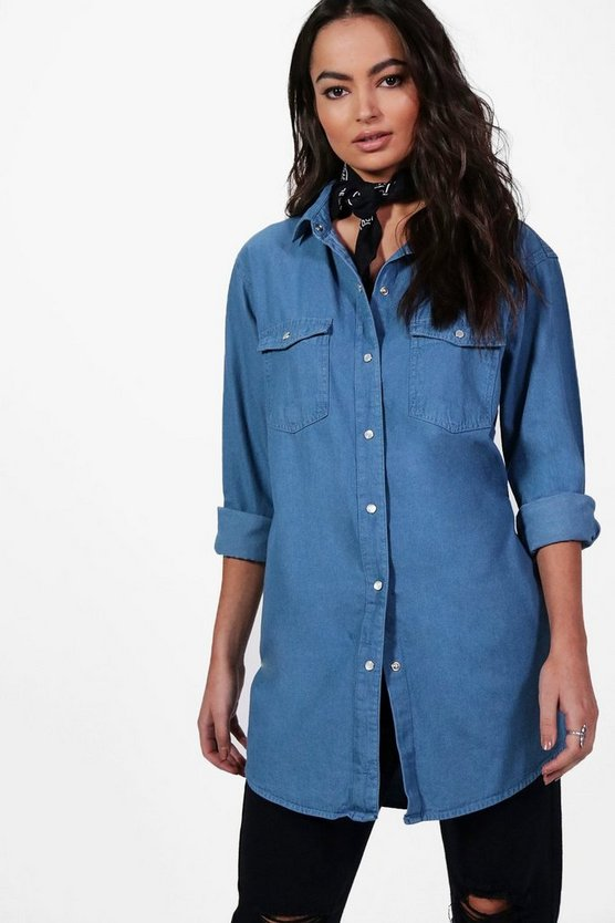 Ellie Oversize Denim Shirt