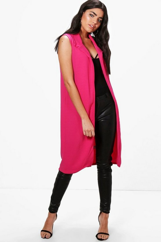 Mia Sleeveless Duster