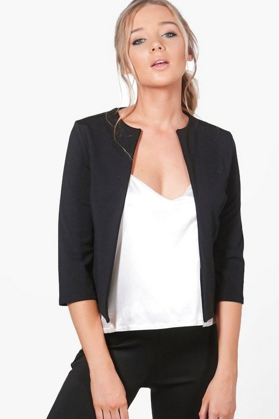 Leah Crop Edge To Edge Jacket