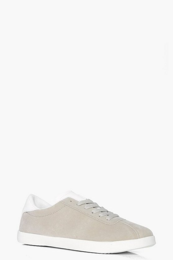 Eve Lace Up Retro Trainer