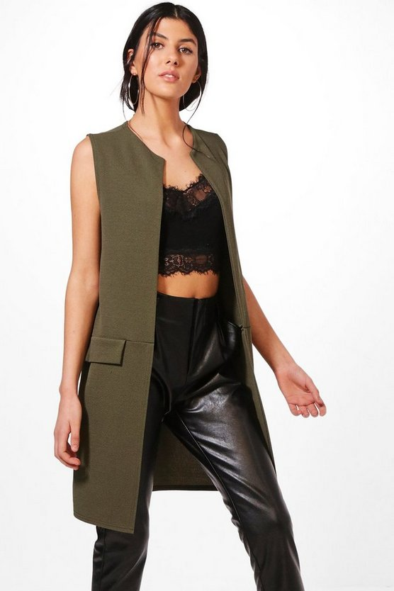 Luna Sleeveless Duster