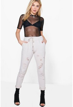 Shiloh Distressed Sweat Jogger