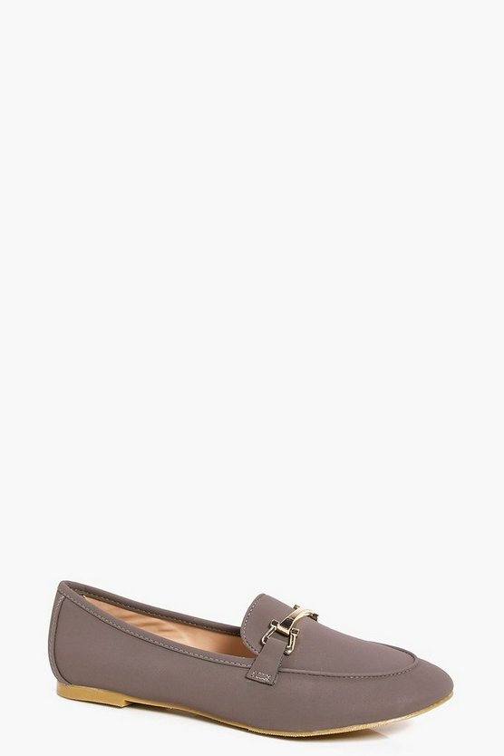 Imogen Metallic Trim Loafer