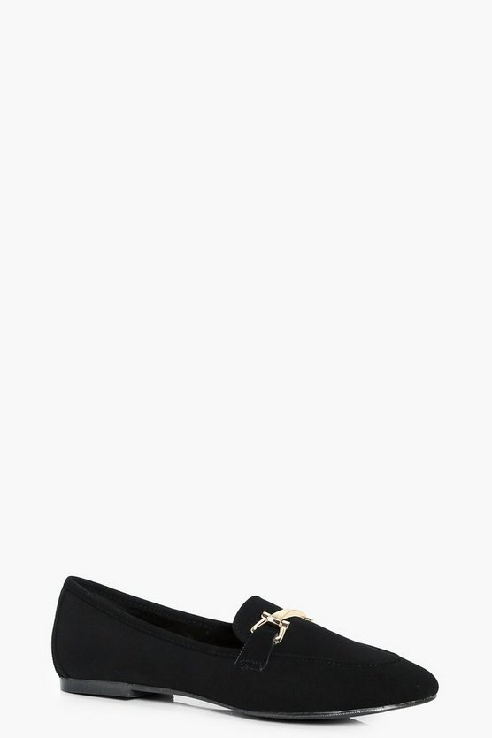 Phoebe Metallic Trim Loafer
