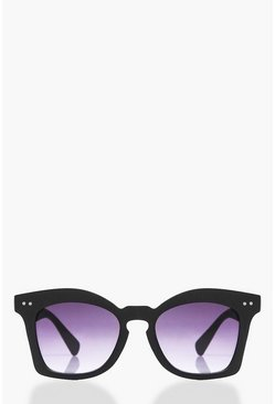 Lola Faded Lense Oversized Sunglasses